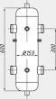 Гидрострелка СК-28 в изоляции 0
